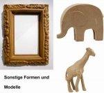 Figuren, Tiere, Objekte, Rahmen