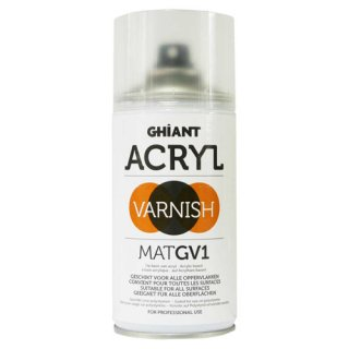 Acryl Klarlackspray 300 ml matt, Ghiant
