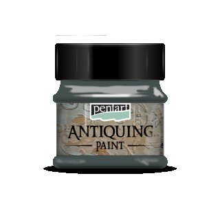 Antik Effektfarbe Algengrün 50 ml Antiquing